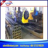 Corte funcional multi del plasma del CNC del eje del tubo 8 de la depresión del tubo de acero Kr-Xf8 que bisela acanalando la máquina