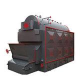La biomasa de leña caldera de agua caliente