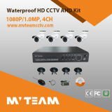 Câmara de segurança de vigilância Kit independente do sistema de CCTV 4 Channel HVR DVR NVR Ahd CCTV DVR 4PCS Kit Andalone 4 Channel HVR DVR NVR Ahd CCTV DVR 4PCS Câmara Dome
