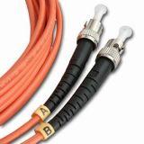 Faser-Optiksteckschnür ST/ST/SM/MM