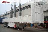輸送の容器および貨物のための半2-3axlesサイドウォールのトレーラー