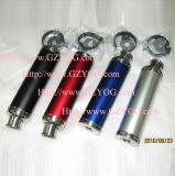 Yog Motorrad-entgehen passende Abgas-Abblasdämpfer-Rohr-Dekoration-Teile multi Farben-blaues Rot-Grün-Silber-Schlange-Schwarz-Zubehör