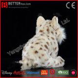 Het ASTM Gevulde Dierlijke Europees-Aziatische Stuk speelgoed van de Pluche van de Lynx Zachte voor Jonge geitjes/Kinderen