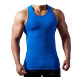 Tejido Dri-Fit personalizado ropa deportiva Fitness Gimnasio Hombres camiseta de entrenamiento