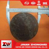 Boule en acier de meulage de cuivre