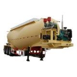 Acoplado a granel de acero del tanque del cemento de la ISO CCC 38cbm