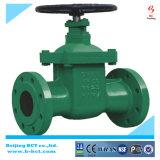 De van een flens voorzien Klep van de Poort van het Roestvrij staal voor het Gas van de Olie en Water Pn16 bct-Gv04