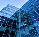 Murs rideaux en verre pour la construction, bureau, système (JINBO)