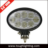 5.5 인치 40W Flood Beam Oval Offroad LED Truck Lights