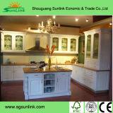 ミラーが付いている純木の浴室の家具