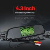 4.3 Bildschirm-Auto-hintere Ansicht-Spiegel-Monitor des Zoll-TFT LCD
