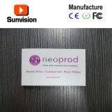 Invitación de la talla del LCD de la alta calidad mini que hace publicidad de la invitación video del folleto