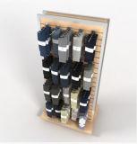 Zwei seitliche Slatwall Socken-Ausstellungsstand-Speicher-Vorrichtungen