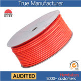 High Pressure Straight Polyester TPU Tuyau d'air tressé / tuyau d'air / tube d'air 5 * 8 Orange