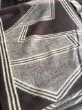 Nouveau design polyester coton Jacquard tissés long foulard 190x45cm007/008 (W/009)