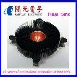 Il dissipatore di calore di alluminio di profilo del dissipatore di calore del CPU si è sporto