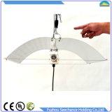 Facilidade da limpeza e da acessibilidade à lâmpada