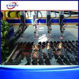 Cortador da máquina de estaca da flama do plasma do CNC do pórtico da Multi-Tocha