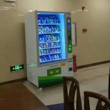 Bebidas y aperitivos Máquina expendedora automática con lector de billetes y cambiador de monedas