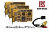 48 Канала 1440 кадров в секунду в режиме реального времени Compre оборудования. H. 264 DVR (HB-48)