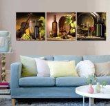 La lona de la decoración del hogar de la pintura del extracto de la pintura al óleo del arte de la pared de los 3 paneles imprime los cuadros para el arte enmarcado sala de estar Mc-265