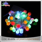 Luzes decorativas da corda do diodo emissor de luz do Natal 10m100L da multi esfera da cor