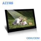 14 tarjeta llena del soporte SD/MMC del marco de la foto de Digitaces de las funciones de la pulgada