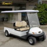 Нестандартный отель с электроприводом багги 2 поля для гольфа сиденья с пневматической тележки