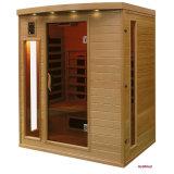 Sauna della famiglia delle merci di qualità per sauna di Infrared lontano di Corona-Cp delle 3 genti