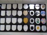 Patrón personalizado redondo UF asiento de tocador Artículos sanitarios con Soft Cerrar