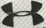 Etiqueta grossa dos acessórios dos vestuários da transferência térmica do silicone da placa