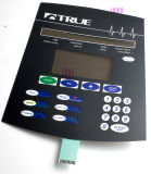 Relieve LED táctil cúpula metálica Interruptor de membrana para electrodomésticos