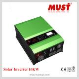 발전기 자동 재시작 8000W는 태양 충전기를 가진 사인 파동 DC-AC 변환장치를 조정한다