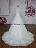 Vestito nuziale di formato da cerimonia nuziale del vestito di sfera dall'innamorato più dell'abito
