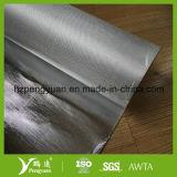 Papel de aluminio de aislamiento de fibra de vidrio