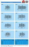Hohe Leistung Alluminum Legierungs-Kühlkörper mit ISO9001: 2008 bescheinigt