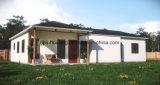Fertiggebäude-Haus mit Dekorationen für Verkauf