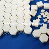 Hexagonales de aluminio de alta pureza Revestimientos de Cerámica