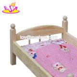 Nuovi giocattoli di legno della camera da letto naturali più caldi per le bambole W06b059