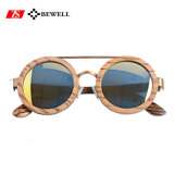 2017 occhiali da sole di legno naturali delle donne di modo