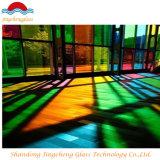 Kleur en Gekleurd Aangemaakt Gelamineerd Glas