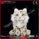 La norme ASTM animal en peluche Lynx eurasien Soft un jouet en peluche pour les enfants/enfants