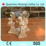 Figura unica decorazione di angolo dei mestieri della resina della casa del bruciatore di incenso della resina di disegno