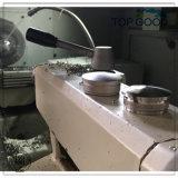Edelstahl-Handlauf, der flachen Endstöpsel für das 33.7/38.1/42.4/48.3/50.8mm Gefäß befestigt