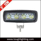 12V IP67는 5 인치 12W 호리호리한 Offroad LED 일 램프를 방수 처리한다