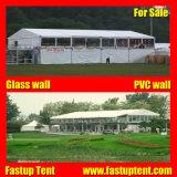 Производитель пвх белого цвета крыши Double Decker палатку в рамке для открытия недвижимости