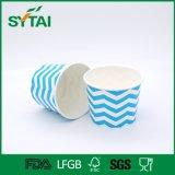 Populärer Zoll druckte Papier aufbereitetes Eiscreme-Papiercup