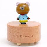 다른 종류 동물 소형 음악 상자 경이로운 장난감 악기