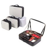 Raison sociale de Keyson nouveau Portable Design personnalisé face souple cuir synthétique Cas avec miroir de maquillage