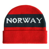 刺繍(JRK013)が付いている冬によって編まれる帽子